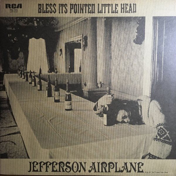 (LP) Jefferson Airplane / Bless Its Pointed Little Head