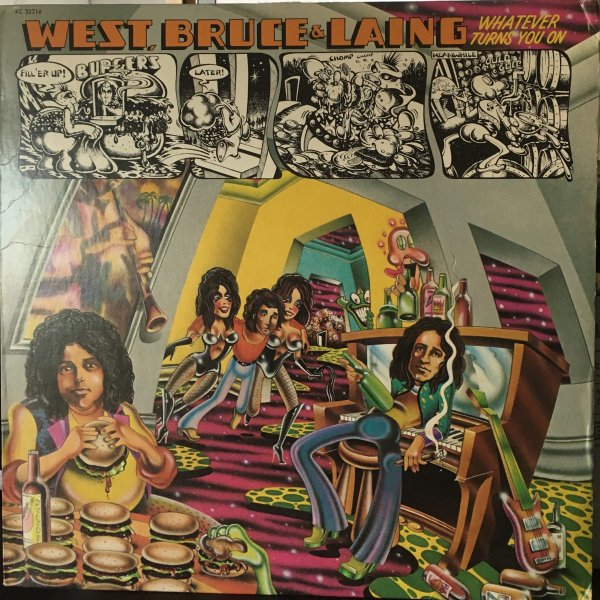 (LP) West, Bruce & Laing / Whatever Turns You On