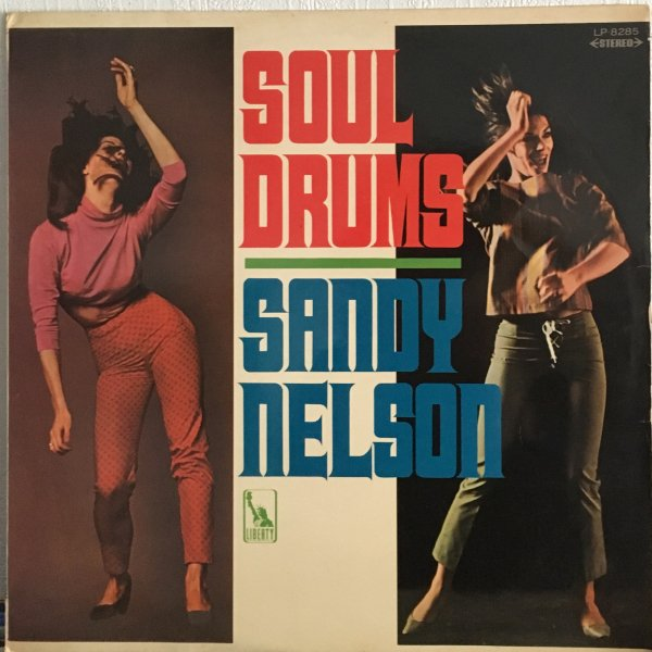 (LP) Sandy Nelson / Soul Drums
