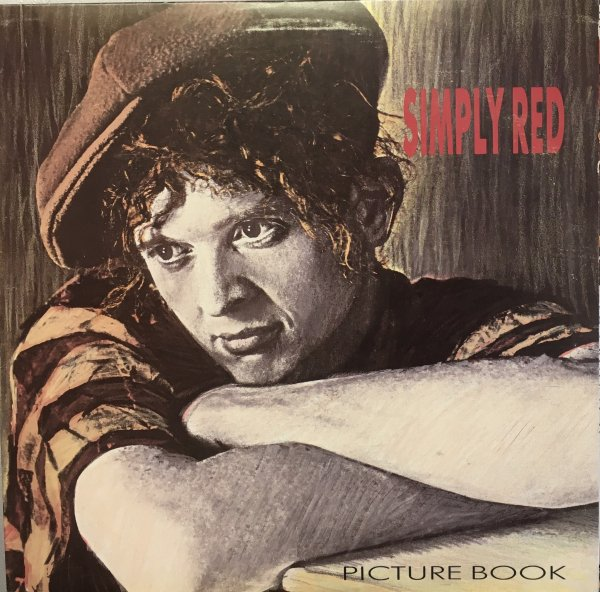 (LP) Simply Red / Picture Book