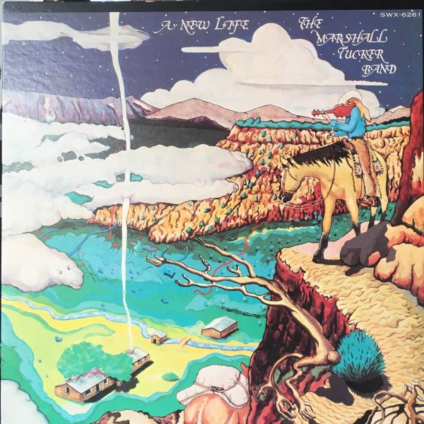 (LP) The Marshall Tucker Band / A New Life