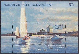 オーランド・ノルデン・海辺・小型シート・2010