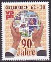 オーストリア・郵趣連盟90年・2011