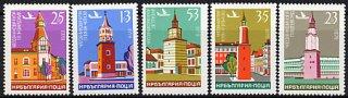 ブルガリア・時計台・1979(5)