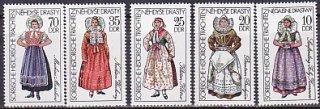 東ドイツ・民族衣装・1977(5)