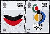 イギリス・英仏和平条約100年・切手・2003(2)