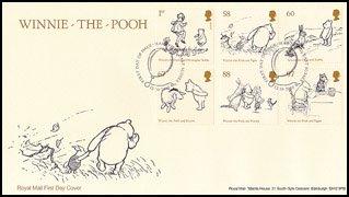 イギリス・クマのプーさん(6)FDC