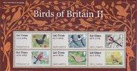イギリス・鳥・ラベル切手・2次・2011(6)セルフ糊