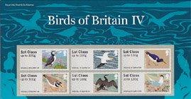 イギリス・鳥・ラベル切手・4次・2011(6)セルフ糊