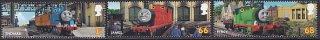 イギリス・機関車トーマス・切手・2011(6)