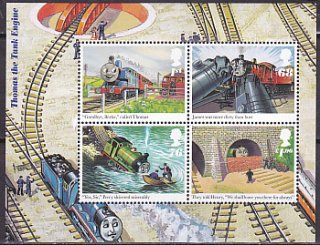 イギリス・機関車トーマス・小型シート・2011