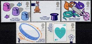 イギリス・マジック・サークル・切手・2005(5)