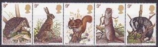 イギリスの切手・野生の動物・1977(5)