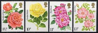 イギリスの切手・王立バラ協会・1976(4)