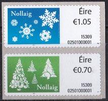 アイルランド・クリスマス・2015A(2)セルフ糊