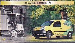 オーストリアの切手・ヨーロッパ・郵便車・2013