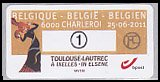 ベルギーの切手・自動化切手・ロートレック・2011(セルフ糊)