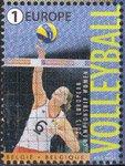 ベルギー・女子バレーボールチーム・切手・2015