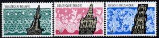 ベルギー・レース編み・切手・1989(3)