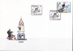 チェコ・クルテク・2013・FDC