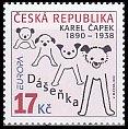 チェコの切手・ヨーロッパ・児童書・2010