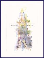 クリスマスカード・ちひろ・ツリー