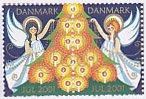 デンマーク・クリスマスシール・天使・2001(2)