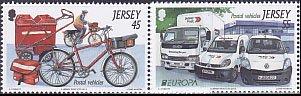 ジャージーの切手・ヨーロッパ・郵便車・2013(4)