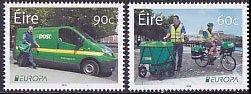 アイルランドの切手・ヨーロッパ・郵便車・2013(2)