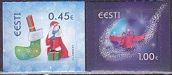 エストニア・クリスマス2013(2)セルフ糊