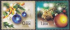 エストニア・クリスマス・2014(2)セルフ糊