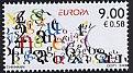 エストニア・ヨーロッパ手紙・切手・2008
