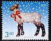 エストニア・クリスマス・ひつじ・切手・2002
