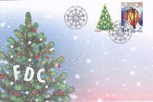 フィンランド・クリスマス2012・FDC
