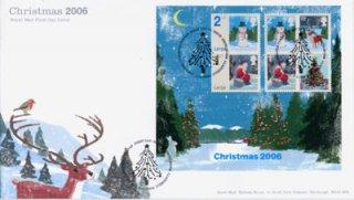 イギリス・クリスマス2006・FDC