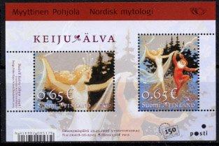 フォンランド・北欧神話・小型シート切手・2006