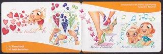 フィンランド・国際女性デー・切手帳・2012(セルフ糊)