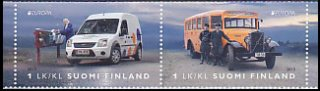 フィンランドの切手・ヨーロッパ・郵便車・2013(2)