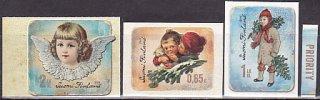 フィンランドの切手・クリスマス・2013(3)セルフ糊