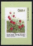 フィンランドの切手・ストロベリー・2004・セルフ糊
