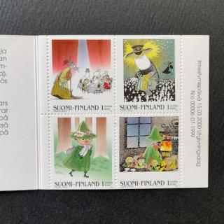 フィンランド・ムーミン・切手帳・2000