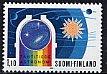 フィンランド・天文学・切手・1984