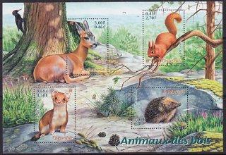 森の動物・2001・S/S(6)