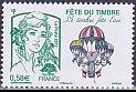 フランスの切手・切手の日・2013
