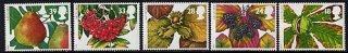 イギリスの切手・秋の果実・1993(5)