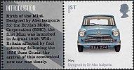 イギリスの切手・デザイン・MINI・2009(1)
