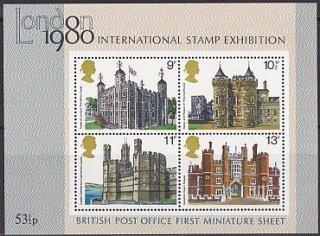 ロンドン国際切手展一次・1978・S/S(4)