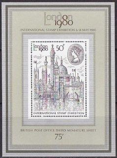 ロンドン国際切手展1980三次・1980・S/S(4)