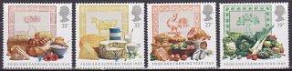 イギリスの切手・食物と農耕・1989(4)