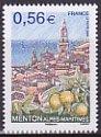 フランスの切手・マントン・レモンの町・2009